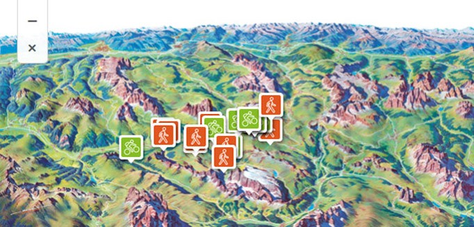 Dolomiti Supersummer Val di Fassa Smart card summer lifts Dolomiti