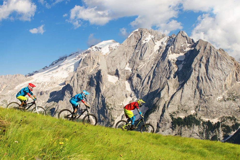 Mountain biking holidays Val di Fassa Trentino - GPS mountain bike ...