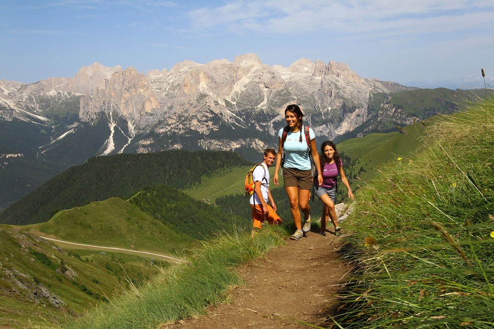 Trekking holiday Val di Fassa Dolomites Summer excursions hiking