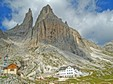 Press and Vajolet mountain huts - Catinaccio