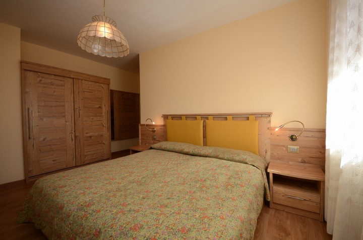 Double room, Holiday house in Moena in Val di Fassa in the Trentino Dolomites