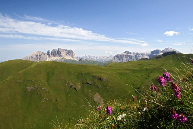 Buffaure - Val Jumela - Sella mountain group