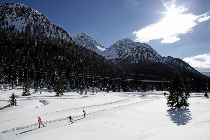 Cross country ski center Alochet