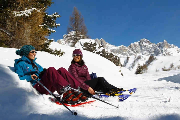 Val di Fassa Top Ten Outdoor Snow Activities