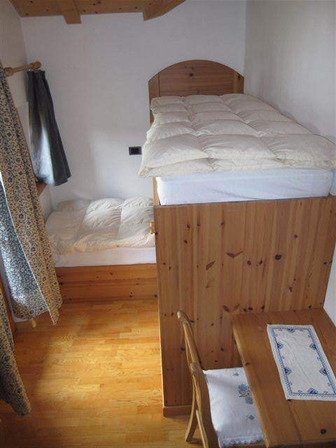 the double room with bunk beds with balkony east side
