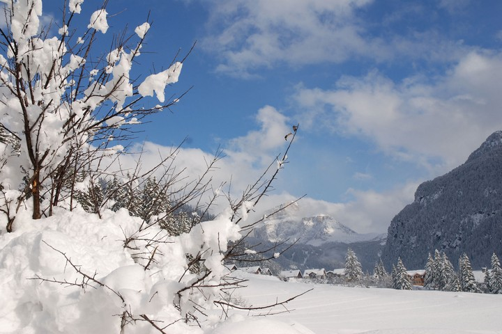 Cross country ski routes Mazzin di Fassa