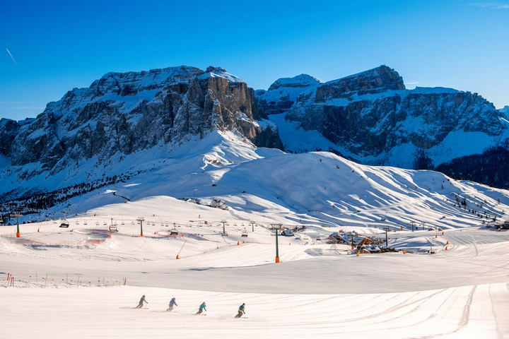Val di Fassa: winter music on skis