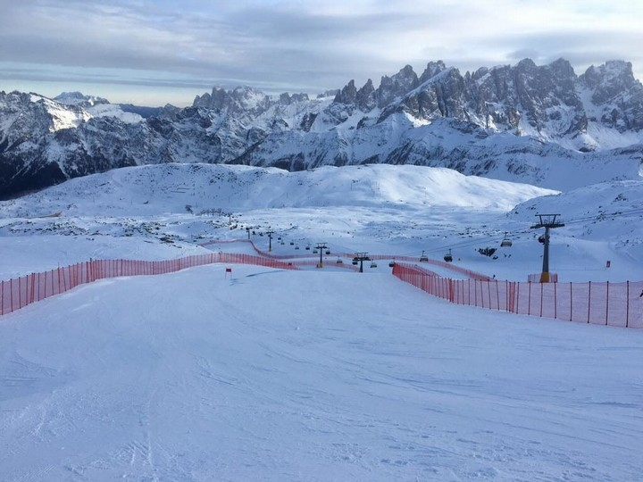 One month left to the Val di Fassa World Cup
