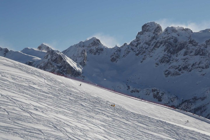 Ski lifts and slopes Buffaure Col de Valvacin Pozza